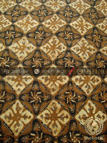 Manisha Batik Kemeja Sogan Genes kain batik motif nithik soga genes thebatik co id