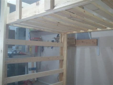 how to build a full size loft bed how to build a full size loft bed jays custom creations