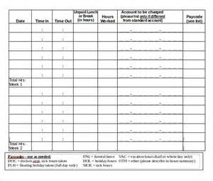 12 bi weekly timesheet templates free sample example
