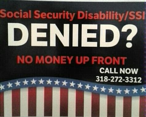 denied social security disability and or ssi fort
