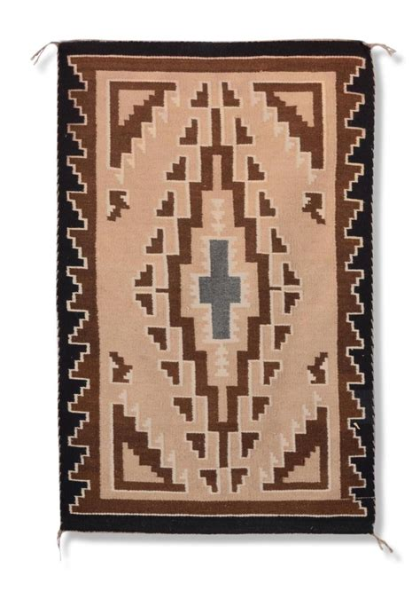 Two Grey Rug by Two Grey Navajo Area Rug