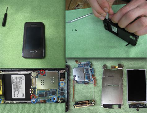 take appart how to take apart a samsung instinct wired