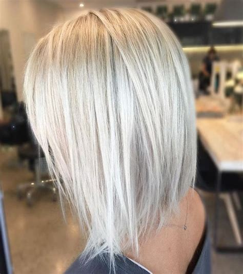 pictures of bob haircuts with blonde foil on brown hair 20 beautiful and trendy icy blonde hair ideas styleoholic