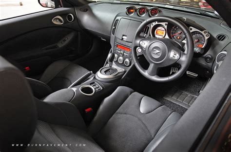 fairlady z interior turning heads at 37 nissan fairlady 370z roadster