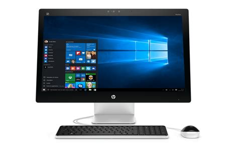 darty pc bureau pc de bureau hp pavilion 27 n205nf 4217454 darty