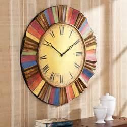 unique large wall clocks large wall clocks modern decor oversized vintage