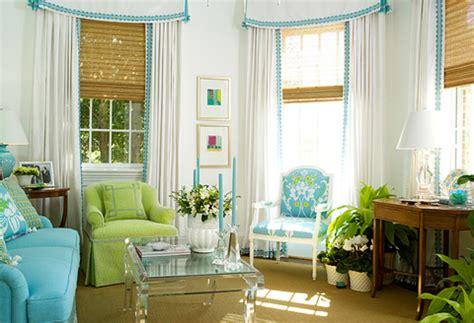 Blue Living Room Green Kitchen Salas En Color Turquesa Ideas Para Decorar Dise 241 Ar Y
