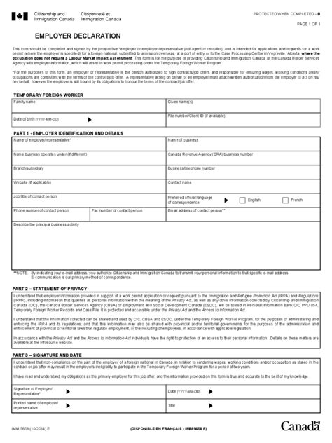 employee declaration form 3 free templates in pdf word