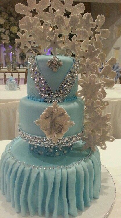 winter themed quinceanera cakes sweet 16 cake winter in wonderland theme cakes