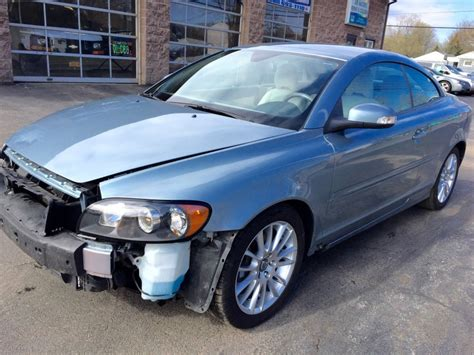 automobile air conditioning repair 2009 volvo c70 electronic throttle control 2009 volvo c70 t5 turbo salvage for sale