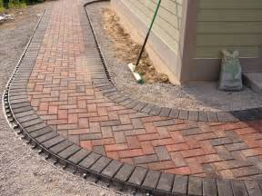 holland stone paver walkway outdoor living spaces