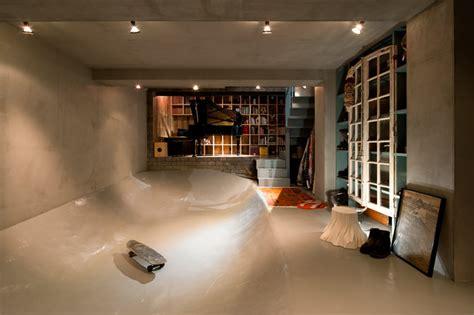 skateboard home design level architects skate park house