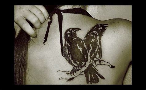 hugin and munin tattoo wonderful of hugin and munin ink inspiration