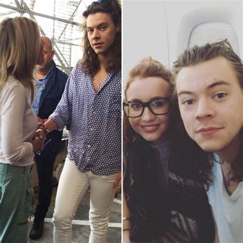 harry styles with fans harry styles fans it s great that he s so normal
