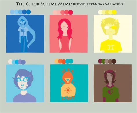 Colors Meme - color palette meme by uglyduckbella on deviantart