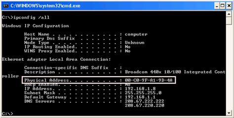 Computer Mac Address Lookup The Www How To Find A Mac Address Of Windows Mac And Linux Computer Mac Guides