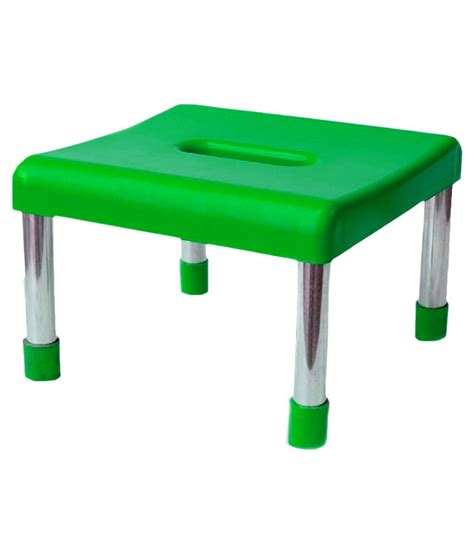 I Green Stool by Avs Corporation Green Stool With Stainless Steel Legs Buy