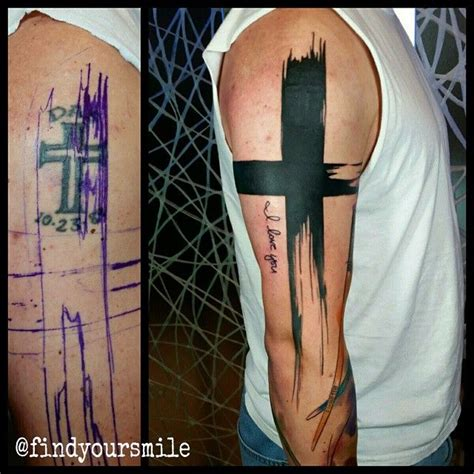 cover cross tattoo 25 best ideas about cover up tattoos on black