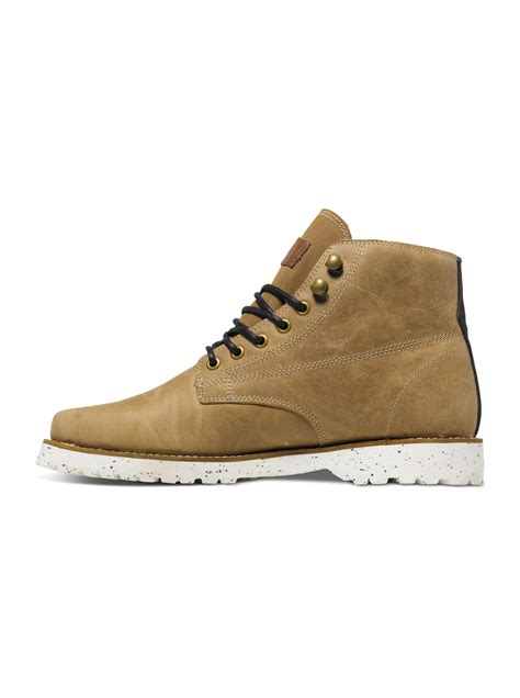 Quiksilver Ql015 White Brown gage boots aqyb700009 quiksilver