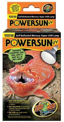 zoo med heat l zoo med 100 watt powersun uvb heat bulbs for sale