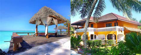 mnarani beach cottages zanzibar beach accommodation in