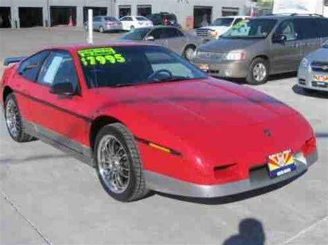 pontiac fiero spoiler pontiac fiero 1987 gt with 177k new paint on rear