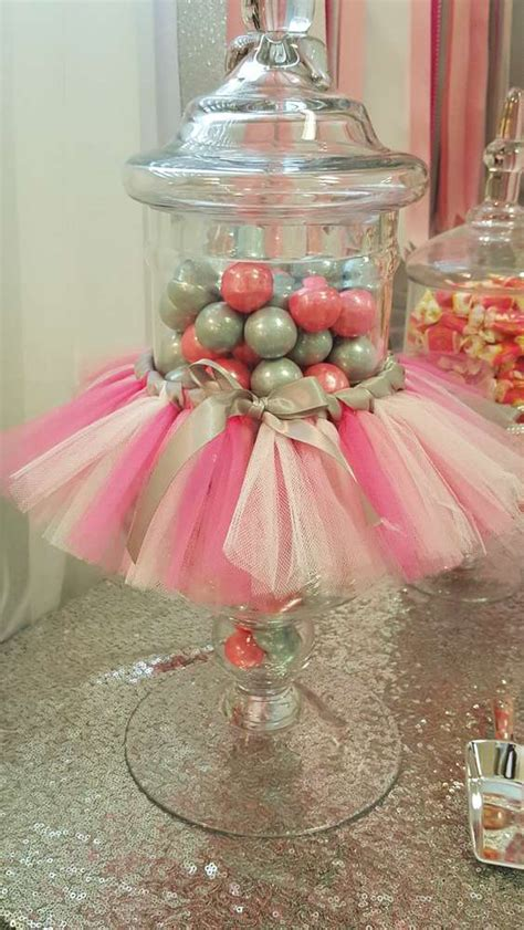 Tutu Decorations by Tutus And Tiaras Baby Shower Ideas Photo 6 Of 67