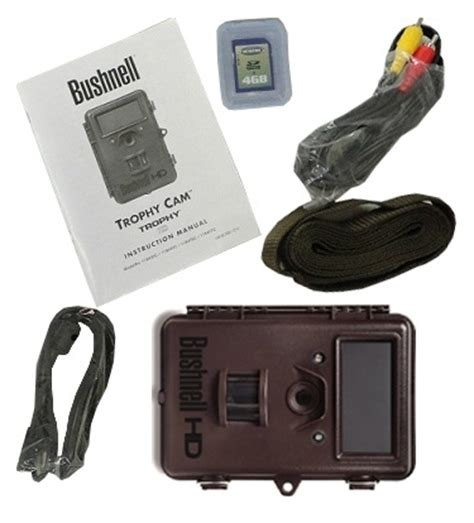 bushnell trophy cam 8mp hd trail camera with colour viewer
