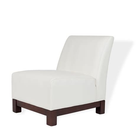 White Leather Armchairs by Club White Leather Armchair