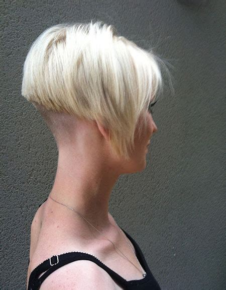 blonde bob undercut cool short blonde haircuts short hairstyles 2017 2018