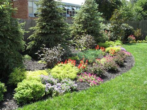 perennial flower garden outdoor decorating landscape