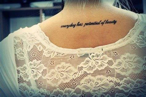 cute tattoo quotes about life cute black short life quote tattoos for girls back short