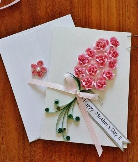 Paper Roses For Card - 1000 ideas about quilled roses on paper