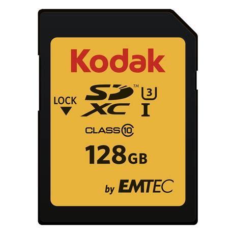 kodak sdxc 128gb class 10 95mb/s sd memory card