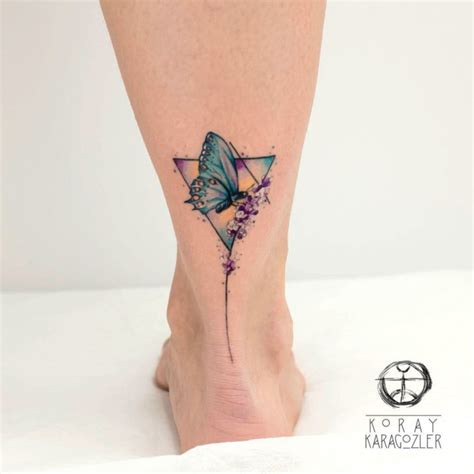 small butterfly foot tattoos small butterfly best ideas gallery