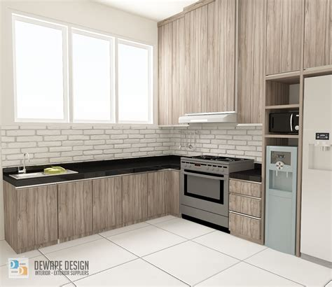 kitchen set design malang