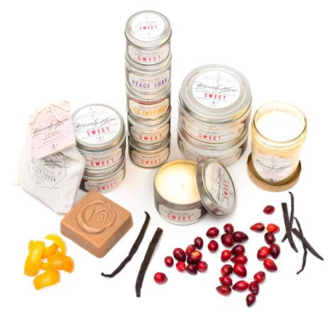 Sweet Scrub sweet scrub offers a blend of cranberry vanilla and