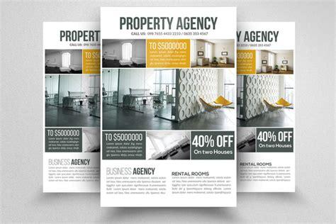 rental property flyer template property management flyer free template 187 designtube