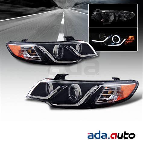 2013 Kia Forte Headlight Bulb For 2010 2013 Kia Forte Coupe Sedan Ccfl Halo Led Drl