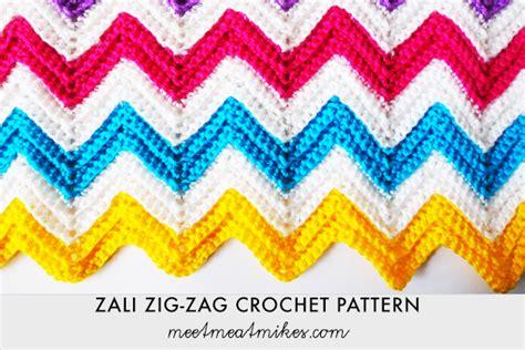 zig zag eyelet trellis pattern fifia crocheta blog de croch 234 ponto zig zag com v 205 deo