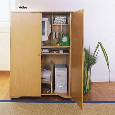 armoire m騁allique de bureau bureau dans armoire bureau moderne pas cher lepolyglotte