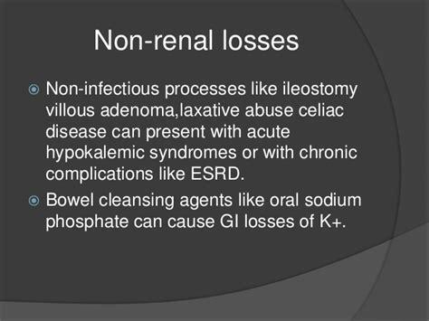 Detox Laxative Abuse by Hypokalemia