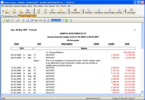 general ledger reconciliation template