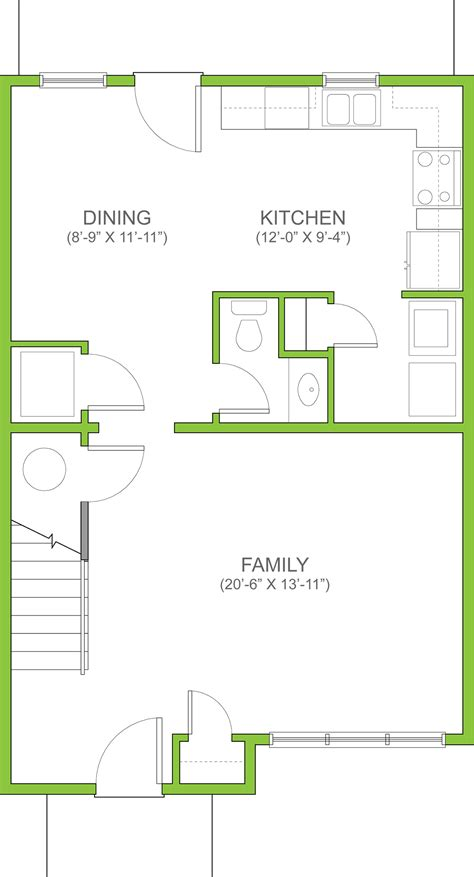 Floor Plans With Measurements see the baltimore 3 bedroom townhouse for rent in lancaster pa