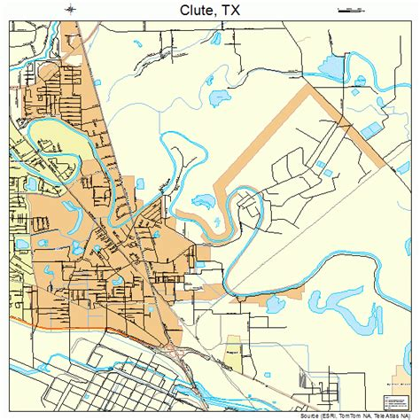 clute texas map clute texas map 4815652