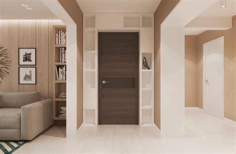 Warm Modern Interior Design Door Interior Design