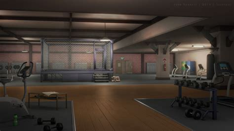 boxing wallpaper for bedrooms boxing gym cage by jakebowkett on deviantart
