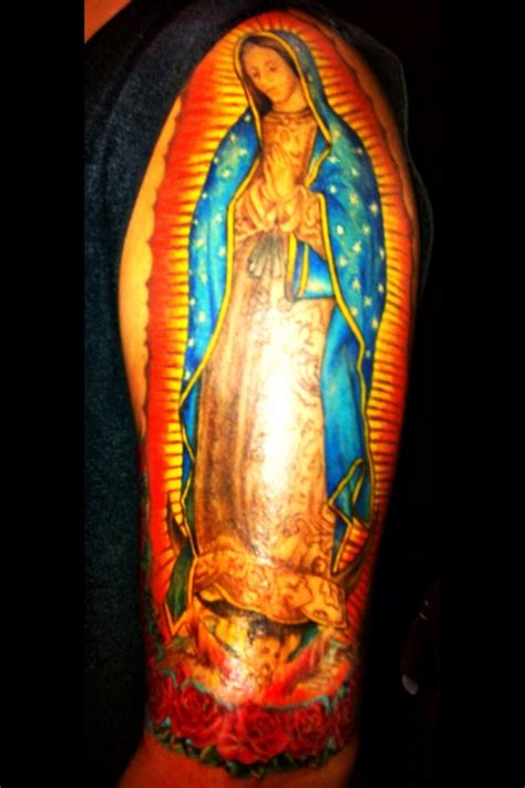 our lady of guadalupe tattoos pinterest