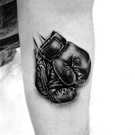 43 impressive boxing gloves tattoo designs that never seen