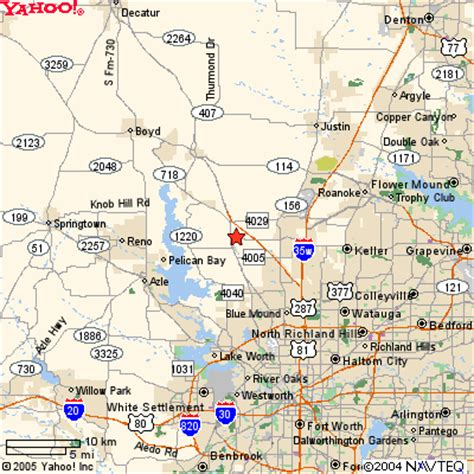 map of haslet texas national well supplies company office map